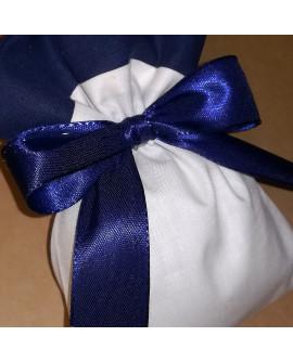 Sacchetto confetti bicolore tinta unita